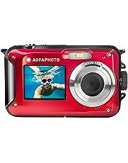 AGFA fotocamera WP8000, waterdicht, 24 MP, rood