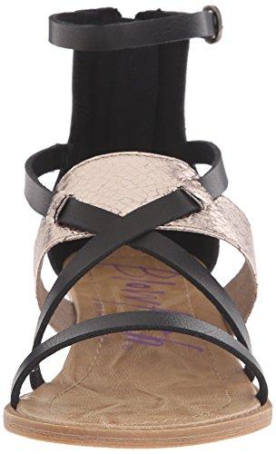 Blow Kvinners Badot Kile Sandal Svart Pisa / Tinn Metall Snakepit