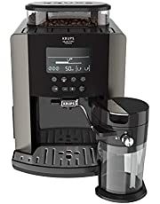 Krups Arabica Latte EA819E Volautomatische koffiemachine - Groot LCD-scherm - Zwart