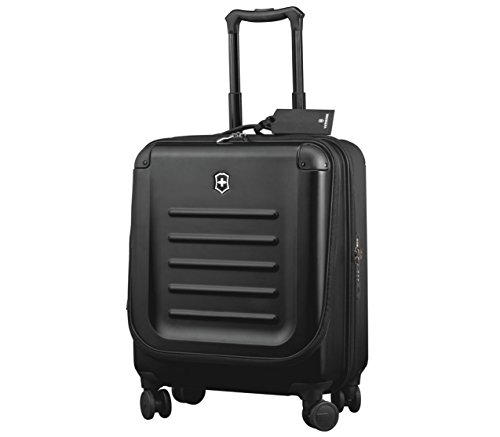 Victorinox Luggage Spectra 2.0 Dual-Access Extra Capacity Carry-On, Black, One Size