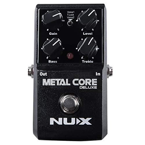 NUX Metal Core Deluxe Distortion Effect Pedal