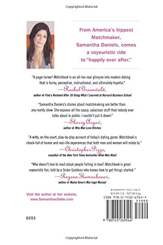 Samantha daniels matchmaker