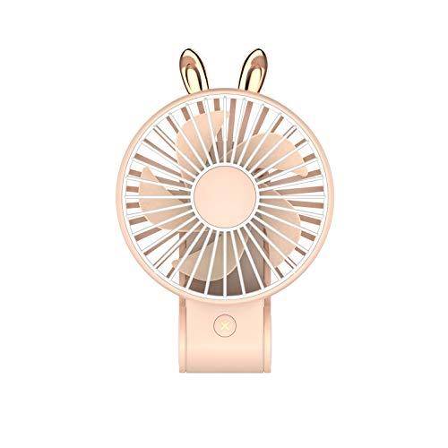 OrchidAmor Portable Mini Handheld Fan Personal Desk Table Desktop Cooling Fan Rechargeable 2019 New Fashion -