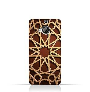 AMC Design HTC One M9+ TPU Silicone Case with Arabic Geometric Pattern