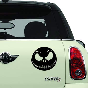 Jack Skellington The Nightmare Before Christmas Black SCI-FI//Comics//Games Automotive Decal//Bumper Sticker