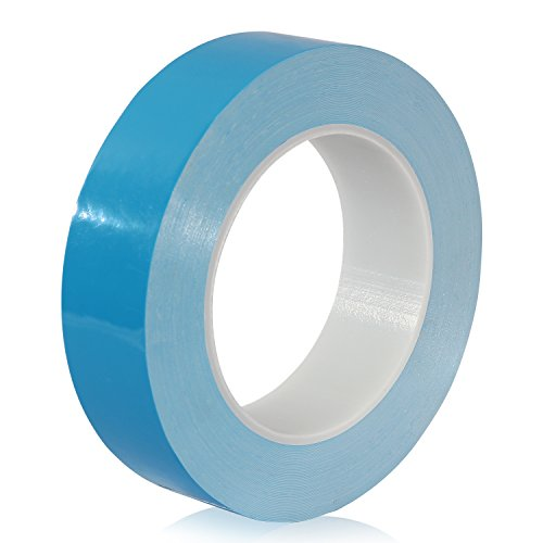 25M x 20mm x 0.2mm Thermal Adhesive Tape for Heatsink, CPU,GPU, High Power LED, IC Chip Set, Modules, SSD Drives