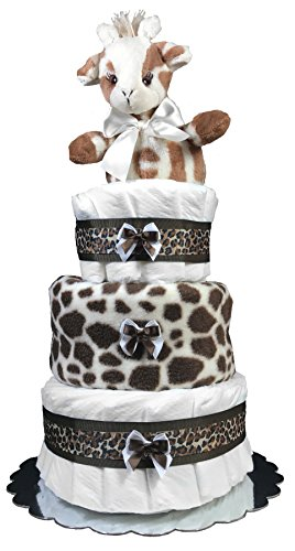 Diaper Cakes For Baby Showers Giraffe Centerpiece By Sunshine Gift