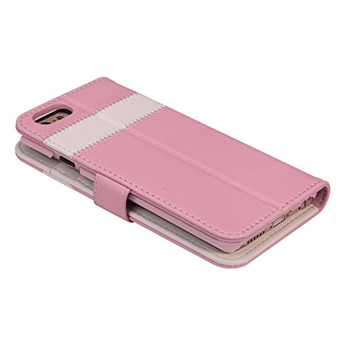 AceAbove iPhone 6S Wallet Case, Premium PU Leather Wallet Cover with [Card Slots] & [Stand] Function for Apple iPhone 6 (2014)/iPhone 6S (2015) – Pink by AceAbove (Image #7)
