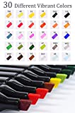 Fabric Markers Permanent 30 Colors Dual Tip Fabric