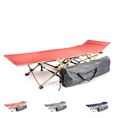 Camping cot portable folding bed for adults and kids | While camping or backpacking take our foldable cots for sleeping or just rest | Our fold up travel camp beds are heavy duty and lightweight