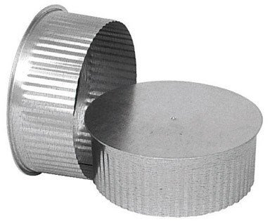 UNITED STATES HDW GV0734 Round Chimney Stove Pipe Plug, Pack of 1