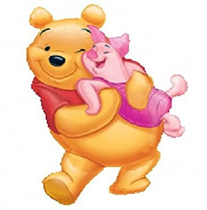 e38f4adcf7f3 Amazon.com  LoonBalloon WINNIE The POOH Bear   Piglet Pig Hugging ...