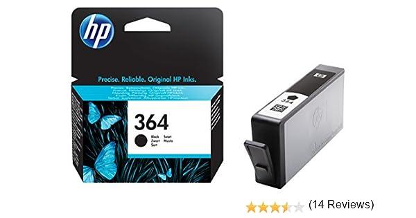 HP 364 - Cartucho de tinta original, negro: Amazon.es: Electrónica