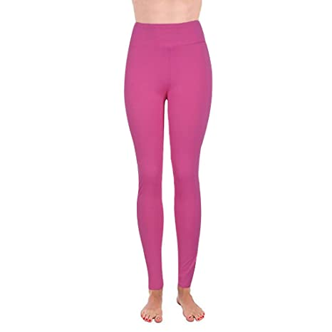 ZIMUUY Femmes Taille Haute Sports Yoga Running Fitness Leggings Pantalon Pantalon de Sport