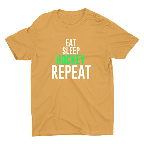 Eat Sleep Hockey Repeat, A.W.3600, GLD,