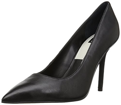 Dolce Vita Women's Mika Pump, Onyx Leather, 11 Medium US by Dolce Vita