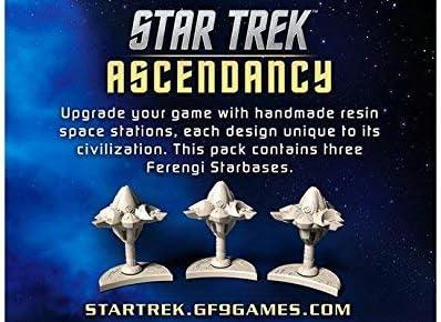Gale Force Nine GF9ST033 Star Trek Ascendancy: Ferengi starbases - Juego de Mesa: Amazon.es: Juguetes y juegos