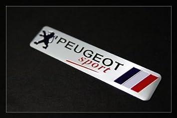 プジョー PEUGEOT SPORT のエンブレム ステッカータイプ(ハードタイプ) [並行輸入品]