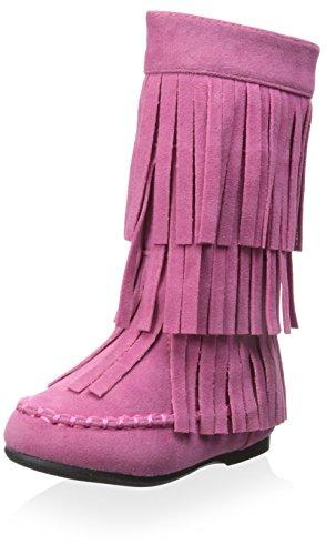 Yoki Kid's Ava Boot - Pink - 6 M US Toddler