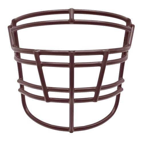 Schutt Sports TRJOP DW XL Super Pro Varsity Titanium Football Faceguard, Maroon