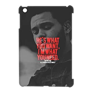 3D [The Weeknd Series] IPad Mini Cases the Weeknd What You Need, Ipad Mini Case for Kids Boys Tyquin - White