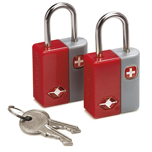 swiss-gear-travel-sentry-key-locks-set-of-2-with-4-keys-engineered-for-better-baggage-security-red