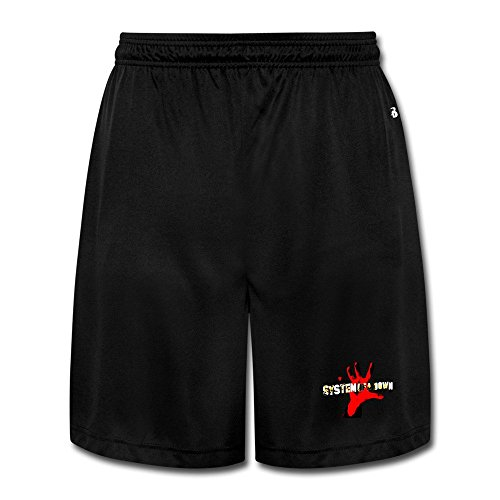 Men's System Of A Down SOAD Rock Band Logo Cargo Shorts