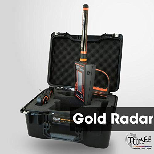 MWF Gold Radar Long Range Metal Detector - Professional Gold Finder and Deep Seeking Geolocation Tracker - Premium Treasure Hunting