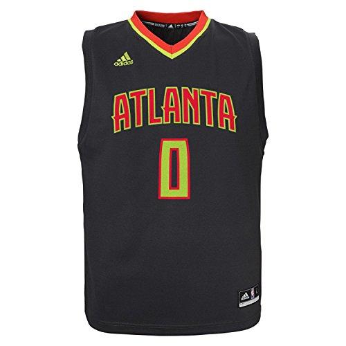 (Jeff Teague Atlanta Hawks Adidas NBA Replica Youth Jersey)