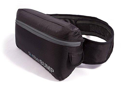 SlumberBump Positional Sleep Belt for Snoring and Sleep-Disordered Breathing, Black/Gray (Large)
