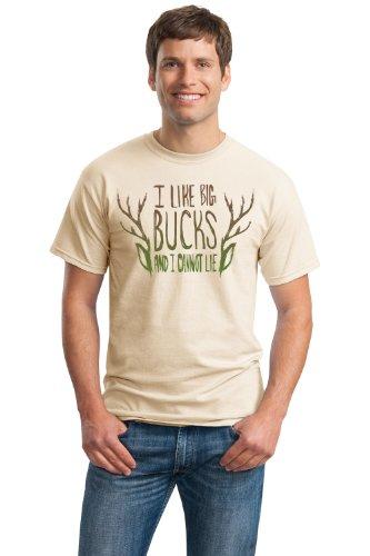 I Like Big Bucks & I Cannot Lie   Funny Deer Hunter, Hunting Unisex T-shirt