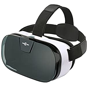 SARLAR 3D VR Headset, Virtual Reality Goggles Movies Video Games Viewer for iOS, Android, Microsoft & PC Phones Series…