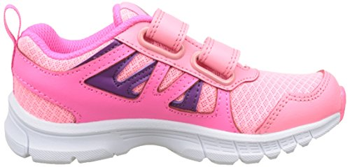 Reebok Run Supreme 2.0 2v - Zapatillas de running Niños Rosa (Peppy Pink / Solar Pink / Aubergine / White)