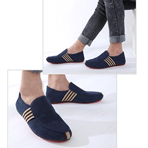 Guisantes De Zapatos Juleya Zapatos Hombre Zapatos Conducción De De Azul Respirables Mocasín Zapatos Hombres pt66EwSq