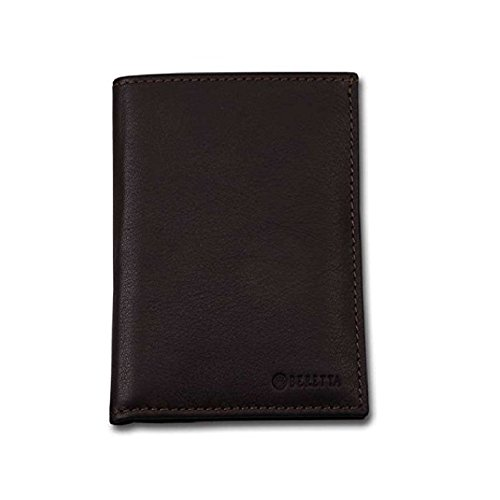 Leather Beretta Vertical Beretta Leather Wallet Vertical Brown Leather Brown Wallet Leather rvvXPcq