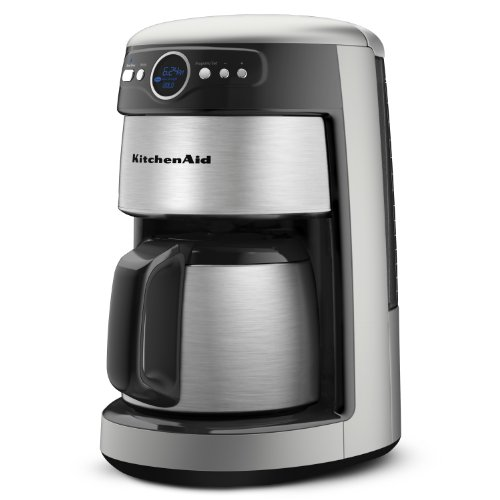 KitchenAid 12-Cup Thermal Carafe Coffee Maker, Countour Silve