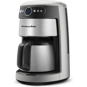 Amazon Com Kitchenaid 12 Cup Thermal Carafe Coffee Maker