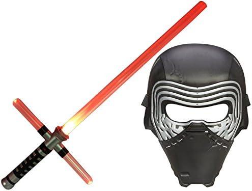 Kss Cruz de Espada láser (Luz Roja) + Máscara kylo Ren Star Wars ...