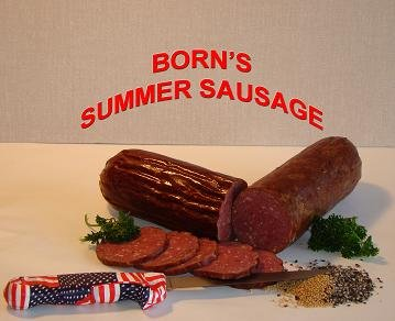 Borns Summer Sausage Mix 25 lbs - BOR-SMRSG-25 by Borns Spices & Casings