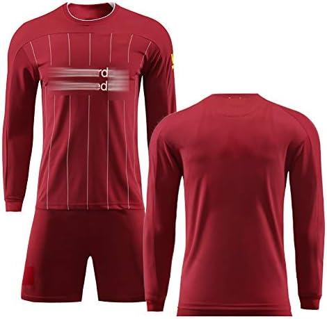 メンズフットボールジャージ、Mané10#Keita 8#、メンズフットボールウェア、フットボールファン用のユニフォーム、トレーニングユニフォーム、繰