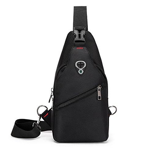 paquete bag2 de de paquete gimnasio del de Sport bolsa honda del mensajero de hombro bolso honda Mochila hombres Hombro los pechera pecho del zdqxA4BB