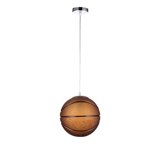 Lámpara Colgante de Vidrio LED Accesorio de Baloncesto Hecho ...