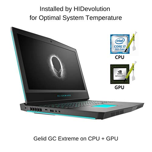 Compare HIDevolution Alienware 17 R5 (AW17R5-8750-1070-SL-HID12) vs other laptops