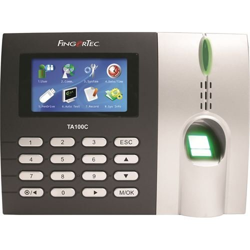 Fingertec Premier Color Multimedia Fingerprint Time Attendance System(ta100c) New Algorithm Improves Speed and Accuracy, by Fingertec