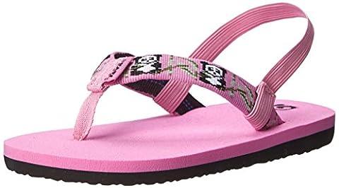 Teva Mush II Flip Flop Sandal (Toddler), Pink, 8 M US Toddler (Kid Teva Flip Flops)