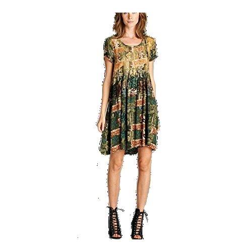 Sleeve Pintuck Dress - 2