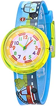Carton Kids Watches Lovely Animal Watch for Children Under 10 Colorful Silicone Watches for Girls Boys