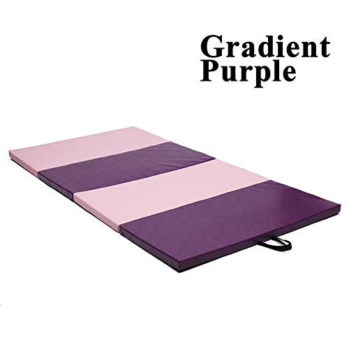 YOOMAT 240x120x5 cm 3 Farbe Yoga matten Falten Soft Play Gym Sport Gesundheit Matte große Rutschfeste Fitness übung pad Yoga matten