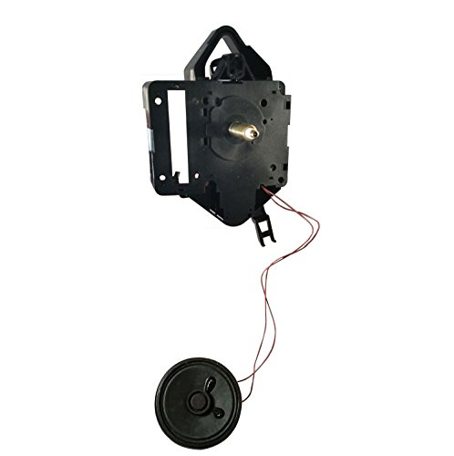 Seiko Electronic Dual-chime Pendulum Clock Movement, Short Shaft, Large Bob (3-1/8