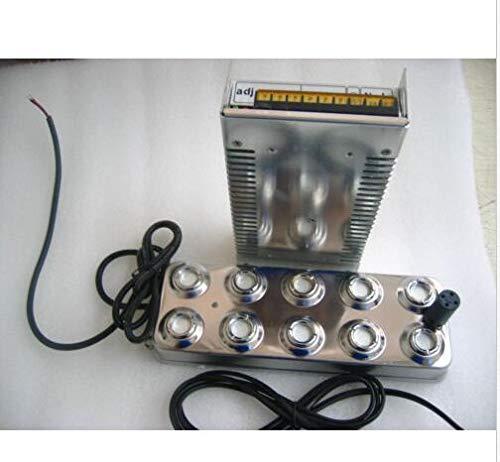 Maslin Brand new Ultrasonic mist maker fogger 10 head humidifier +transformer 5kg